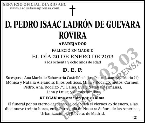 Pedro Isaac Ladrón de Guevara Rovira